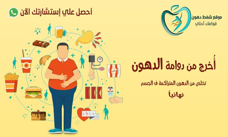 التخلص من الدهون المتراكمة في الجسم